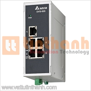 DVS-005W01 - DVS005W01 - Switch Ethernet công nghiệp 5 Ports Delta