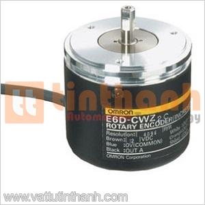 E6D-CWZ2C 3600 P/R 0.5M - E6DCWZ2C 3600 PR 0.5M - Encoder E6D 3600 xung/vòng Omron