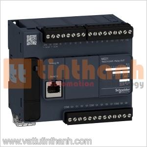 TM221C24T - Bộ lập trình PLC M221 24IO Schneider