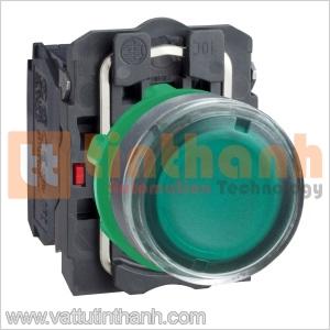 XB5AW3365 - Nút nhấn có đèn xanh lá Ø22 Schneider