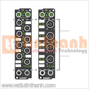 EP2318-0001 - Thiết bị EtherCAT Box 4 digital inputs / 4 digital outputs