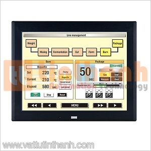 HG4G-CJT22TF-B - Màn hình HMI HG4G 12.1 inch Idec