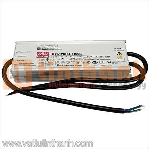 HLG-120H-C700A - Bộ nguồn AC-DC LED 0.7A 107-215VDC Mean Well