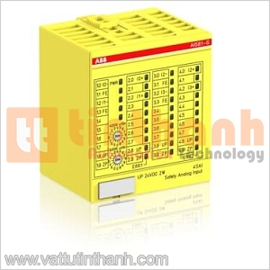 1SAP284100R0001 - Mô đun safety Digital I/O DX581-S 8SDI/8SDO ABB