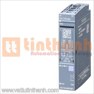 6ES7134-6GB00-0BA1 - 6ES71346GB000BA1 - Mô đun mở rộng Analog ET 200SP 2AI Siemens