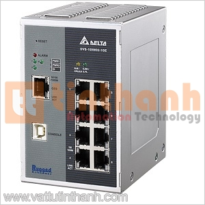 DVS-109W02-1GE - DVS109W021GE - Switch Ethernet công nghiệp 9 Port Delta
