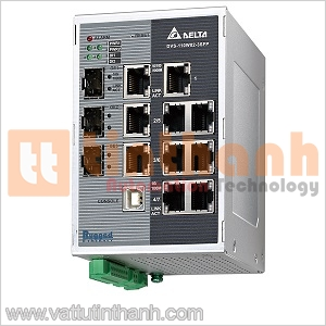 DVS-110W02-3SFP - DVS110W023SFP - Switch Ethernet công nghiệp 10 Port Delta