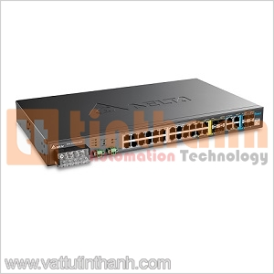 DVS-328R02-8SFP - DVS328R028SFP - Managed Rack Mount Switches Delta