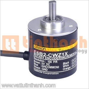 E6B2-CWZ1X 400P/R 0.5M - E6B2CWZ1X 400PR 0.5M - Encoder E6B2 400 xung/vòng Omron