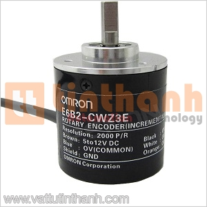 E6B2-CWZ3E 600P/R 0.5M - E6B2CWZ3E 600PR 0.5M - Encoder E6B2 600 xung/vòng Omron