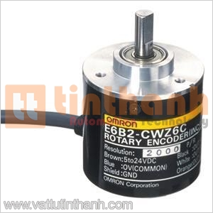 E6B2-CWZ6C 60P/R 2M - E6B2CWZ6C 60PR 2M - Encoder E6B2 60 xung/vòng Omron