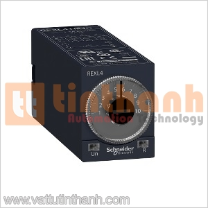 REXL4TMBD - Relay thời gian On-Delay 1S..100H Schneider