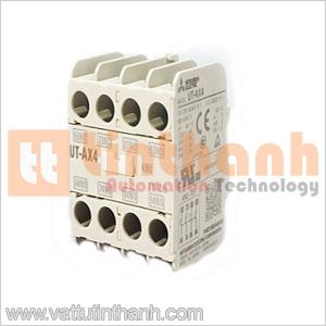 UT-AX4 2A2B - UTAX4 2A2B - Tiếp điểm phụ Contactor 2NO2NC Mitsubishi