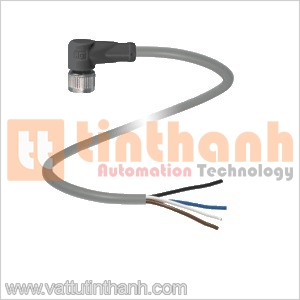 V1-W-5M-PVC - V1-W-5M-PVC - Female cordset M12 4-pin Pepperl+Fuchs