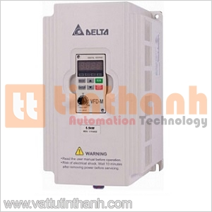 VFD022M21A-T - VFD022M21AT - Biến tần VFD-M Single-Phase 200V~240VAC 2.2KW Delta