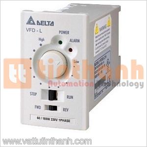 VFD40WL21B - VFD40WL21B - Biến tần VFD-L Single-Phase 200V~240VAC 0.04KW Delta