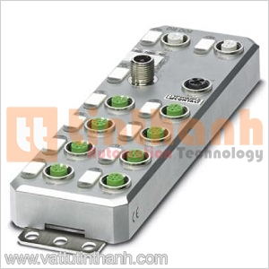 2701525 - Thiết bị I/O phân tán AXL E EC DI8 DO8 M12 6M Phoenix Contact