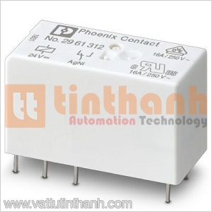 2961312 - Relay trung gian REL-MR- 24DC/21HC Phoenix Contact