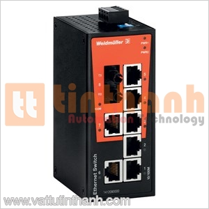 1240950000 - Bộ chia mạng Ethernet IE-SW-BL08-7TX-1SCS Weidmuller