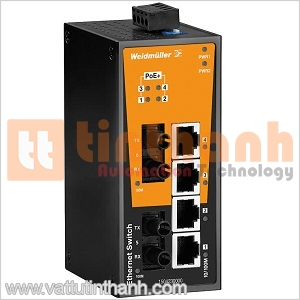 1504240000 - Bộ chia mạng Ethernet IE-SW-BL06T-4POE-2ST Weidmuller